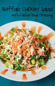 kerrygold Buffalo Chicken Salad with Dressing