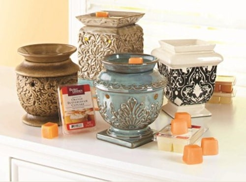 how to clean scented wax warmer