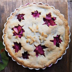 Grape and Apple Pie