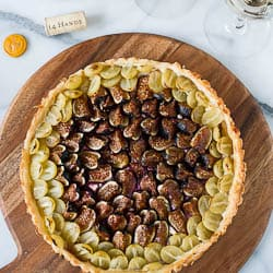 Savory Fig and Grape Tart :: If it