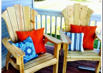 Lowe's DIY Fall Project: Adirondack Chairs {And a Giveaway!}