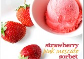 National Moscato Day…Strawberry Pink Moscato Sorbet