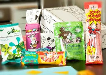 Product Review: The Kid's Tasters Box from Goodies Co.