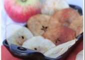 Sugared Apple & Pear Chips