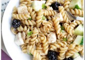 Blackberry Ginger Pasta Salad