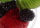 Blackberry Sorbet…Sweet.