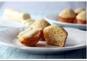 Mini Cheddar Biscuit Muffins with Vanilla Honey Butter…from Snappy Gourmet