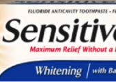 Arm & Hammer Sensitive Toothpaste Review…and a Giveaway!
