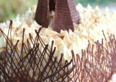 Bahlsen Waffeletten Coconut Almond Chocolate Cake