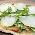 Flatbread Pizza with Fig, Pears and Arugula