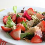 Grilled Chicken & Strawberry Salad