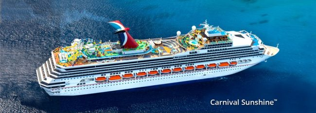 Sailing The Carnival Sunshine Dining Doughmesstic Com