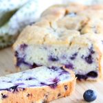 Gluten Free Tropical Blueberry Cake