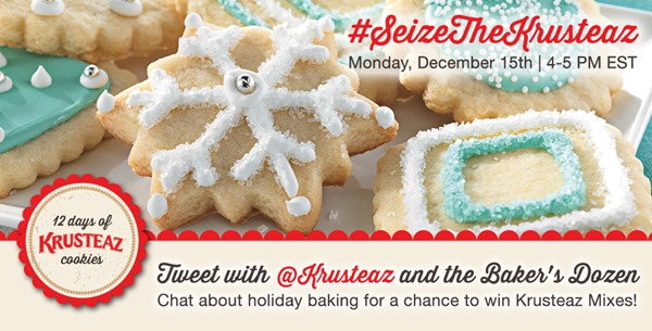 Krusteaz - 12 Days of Cookies - Twitter Party Graphic - Twitter2