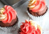 Chocolate Peppermint Cupcakes…Low Carb and a Giveaway!