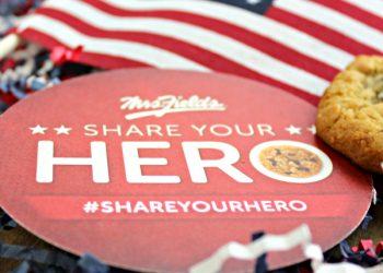Cookies and Heroes  #ShareYourHero