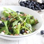 Mixed Greens & Blueberry Salad