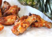 Pineapple Barbeque Chicken Wings