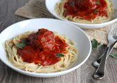 Spaghetti and Giant Meatballs