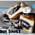 Oreo Stuffed French Toast