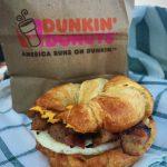 Dunkin' Donuts Sweet Black Pepper Bacon Breakfast Sandwich