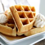 Fluffy Belgian Waffles…Breakfast for Dinner