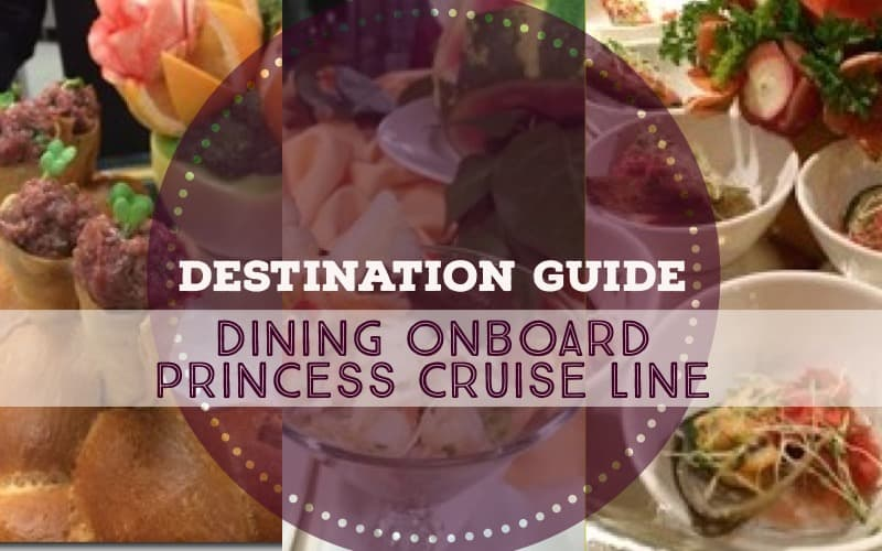 dining princess cruise