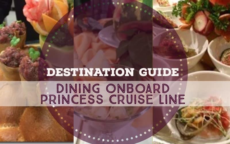 dining princess cruise