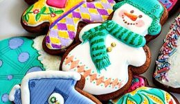 Homemade Decorated Gingerbread Cookies