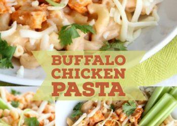 buffalo chicken wing pasta