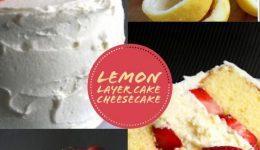lemon layer cheesecake