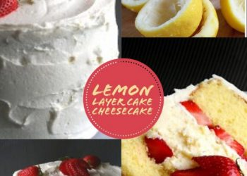 lemon layer cheesecake