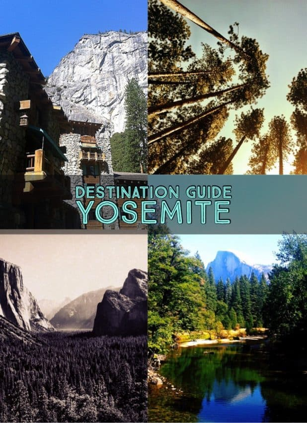 yosemite collage