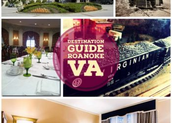 roanoke virginia vacation collage