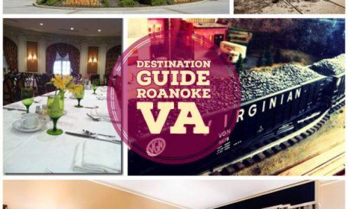roanoke virginia vacation collage