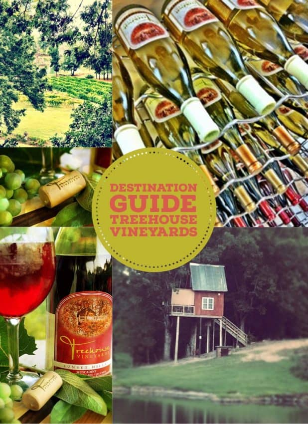 treehouse vineyards collage