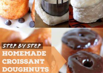 homemade croissant doughnuts
