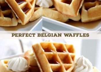 the perfect belgian waffles