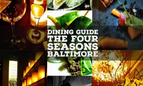 dining at four seasons baltimore