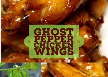 ghost pepper chicken wings