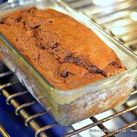 Chocolate Banana Buttermilk Bread
