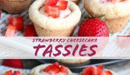 strawberry cheesecake tassies
