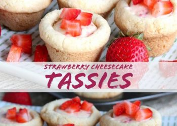 strawberry cheesecake tassies