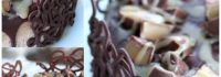 chocolate caramel candy cheesecake