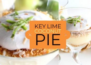 key lime pie with coconut