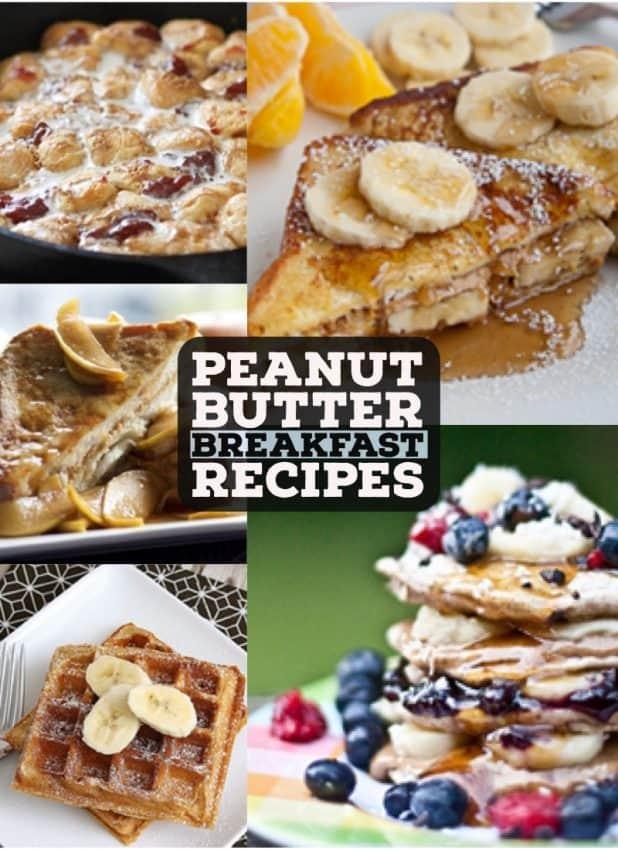 peanut butter breakfast recipes