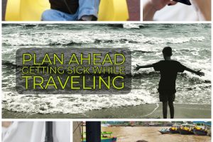 Plan Ahead: Getting Sick while Traveling