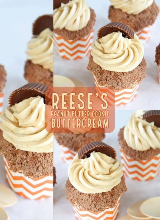 reese's peanut butter cookie buttercream