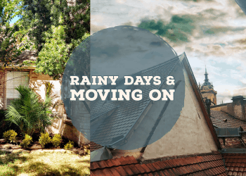 rainy day banner