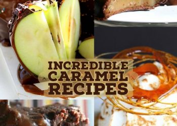 caramel recipe round up header